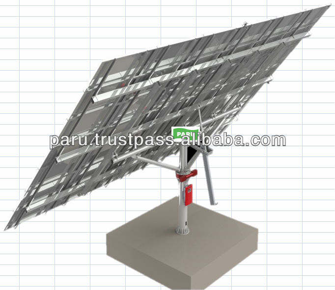 2 Axis Solar Tracking System 13kw Buy Solar Tracking
