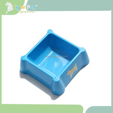 2015 new design high quality plastic dog water bowl