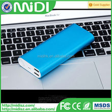 metal Surface ultra-thin 9.9mm 16000mah power bank for xiaomi popular in the alibaba