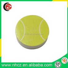 Yellow 2D Basketball Shape Eraser