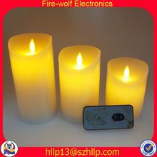 Indonesia Hot Sell Good Quality Customized led glow candle manufacturer