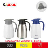 1.5L Stainless Steel Double Wall Novelty Coffee Pot