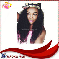 Long Jerry Curl Full Lace Wigs
