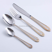 hot-sell stainless steel hotel cutlery stock flatware silverware