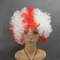2014 Cheapest Fashion Cosplay wig,Football fans Party wig