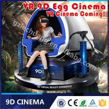 360 Degree Rotational 3 seated 9D VR cinema Games