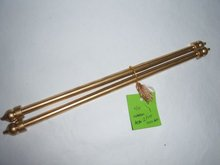 2 Part Plastic Scroll Rod for Scroll Invite