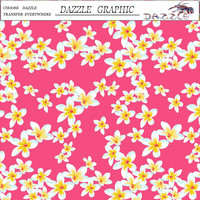 Pretty Popular DAZZLE Flower Pattern No.DGDAS014 Water Transfer Printing Film Hydrographics Film