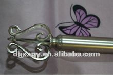 AC Plating double iron curtain rod sets