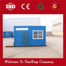 Easy And Quick Assembly Antiseismic Ecofriendly Real Estate Used modular container house office container