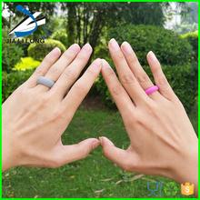 Custom silicone womens wedding ring