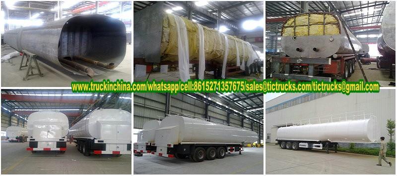 50Ton liquid asphalt tanker-  semi-trailer with heating and insulation 4.jpg