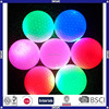 Promotional colorful cheap wholesale fantastic LED golf ball