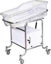 NH33-101A Adjustable with a litter bin/drawer hospital infant baby bed