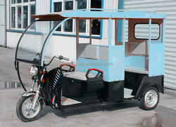No Foldable and Storage Battery Power Supply electric tricycle for passenger