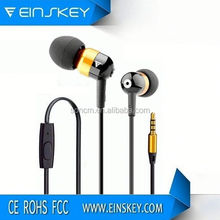 Best quality E-E026 earmuff headphone 3.5 jack with folding structure with mic