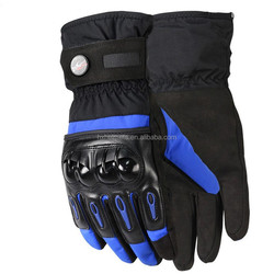 2015 Waterproof Long Gloves Motorcycle Riding Gloves Bicycle Gloves Blue Color