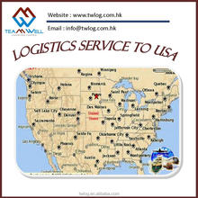 Warehouse agent service from China to USA