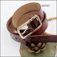 2014 women geniune leather belt