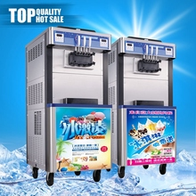 Luxury hot sale wholesale ce certified soft ice cream machine