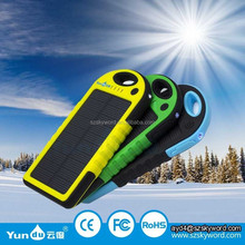 Made in China Alibaba Seller Solar Charger Battery for Mobile Phone Power Bank Solar for Iphone 5s/6