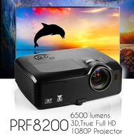 vivibright PRF8200 1080P Projector 4K chip video decoder in stocks now,for 3d mapping show,6500 lms exceed led full hd PROJECTOR