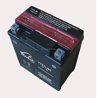 Rechargeable Motorcycle battery 12V6Ah YTX7L-BS, HOT