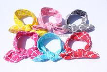 2015 Bunny ear headband, fashion elastic hair band
