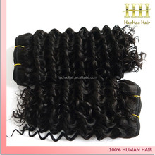 most selling products fast shipping human hair pieces mongolian deep wave
