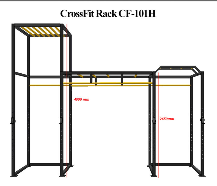 CF-101H-details-of-cross-noeven-bar-crossfit-high-low-tower_02