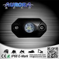small size and IP68 waterproof AURORA rock lights ip68 truck rock lights