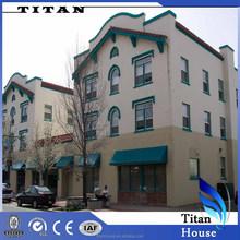 Wide Span Steel Structure Prefab Hotel Buildings by Wholesale Building Supplies