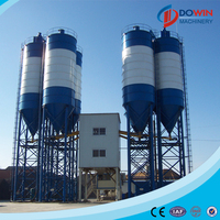 Professional concrete batching plant process flow from construction companies