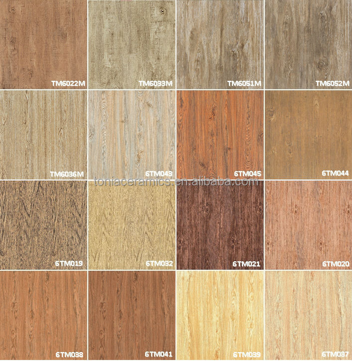 Tonia ink jet wood effect finish timber tile prices view - Different types of wall tiles ...
