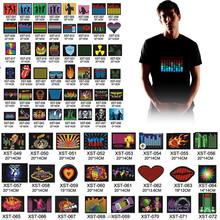Customization Voice Control Led Music Light T-shirt