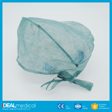 White/Blue/Yellow/Pink/Green disposable nonwoven mob cap
