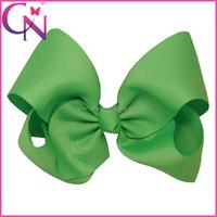 Hot Selling Latest Fashion Headwear Grosgrain Ribbon Hair Bow With Clip For Girls CNHBW-13081913-4W2