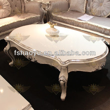 New classic wooden end table, Arabic coffee table for cafe