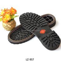 Hot sale 2015 clear non slip rubber shoe soles wholesale