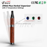 World best selling products wax and dry herb vaporizer pen imag plus ceramic chamber