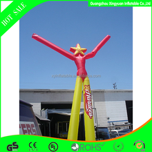 2015 Most popular two legs inflatable dancing stars party supplies