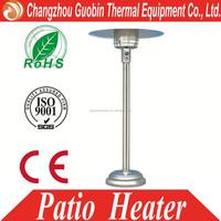 european tall umbrella outdoor garden Natural LPG Gas Propane flame patio heater