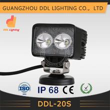 """High quality 12v/24v automobile 4.3"""" auto led work light 20w"""