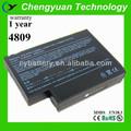 para hp 4809 batería del ordenador portátil