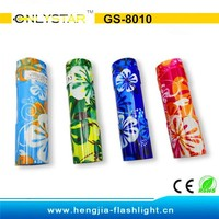 GS-8010 Aluminum good quality cheap 9 led mr light led torch from 9 year factory