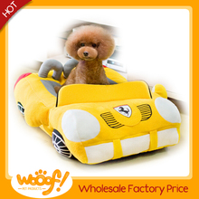 Hot selling pet dog products car shaped dog bed