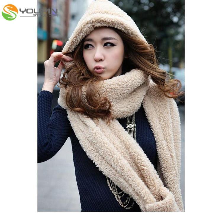 Женские шарфы, Шапки, Комплекты Youpin style 3Color OK