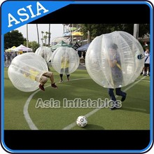Clear Inflatable Bumper Ball Human Body Zorb Ball with Custom Printed LOGO