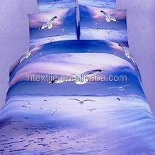 3D Bed sheet Sets+3D Bed Linen egyptian cotton Bed Set (high quality)