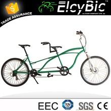 new model 26inch high quality tandem bike aluminum frame (E-X701)